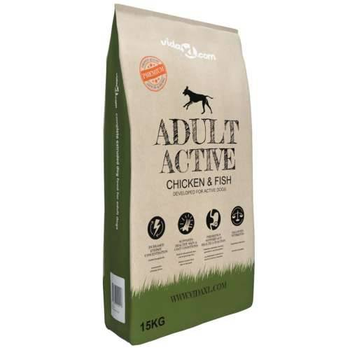 Premium suha hrana za pse Adult Active Chicken & Fish 15 kg Cijena