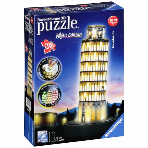 Ravensburger 3D Puzzle Leaning Tower of Pisa by Night Cijena