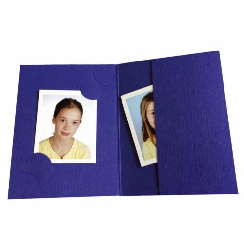 1x100 Daiber Folders , blue for passport pictures, 3 sizes Cijena
