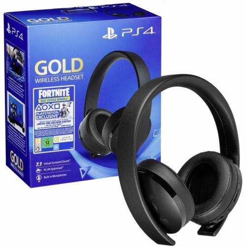 Sony PS4 Gold Wireless Headset Fortnite Neo Versa Bundle Cijena
