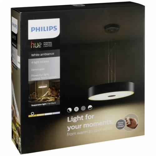 Philips Hue Fair LED Pendant Light black Cijena