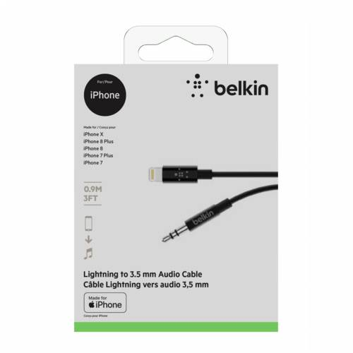 Belkin MIXIT Lightning to 3,5mm AUX Cable 0,9m AV10172bt03-BLK Cijena