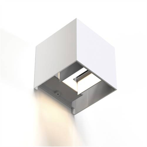 Hama WiFi wall light 10cm IP44 squared white Cijena