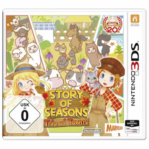 Nintendo 3DS Story of Seasons: Trio of Towns Cijena