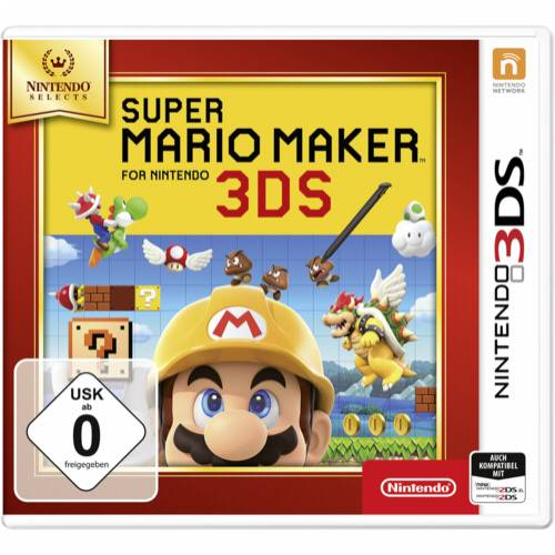 Nintendo Super Mario Maker for Nintendo 3DS Selects Cijena