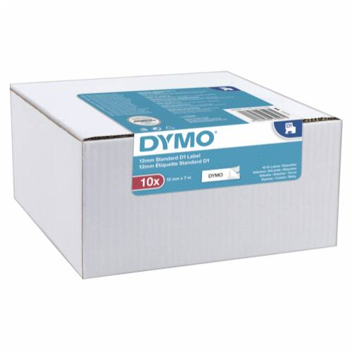 1x10 Dymo D1 Label  12mmx7m black to white Cijena
