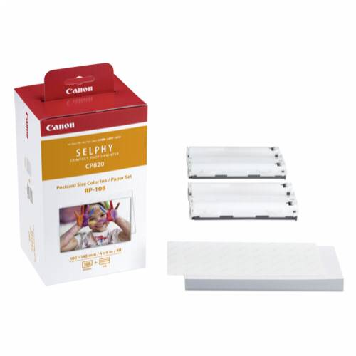 Canon RP-108 10x15 cm Color Ink/Paper Set (108 sheets) Cijena